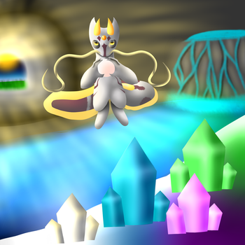 The Pearl Weilder of Crystal Cave (DTA Entry) by NeoTheWendigo