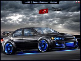 Mitsubishi EVOTURK WTB by maddinc