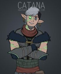 Commission: DND OC by AnaPunda
