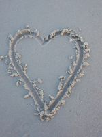 Heart in the Sand by love-norway