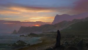 On the coast by Silberius