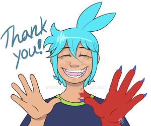 Thank You! (request) by SkyHighFae