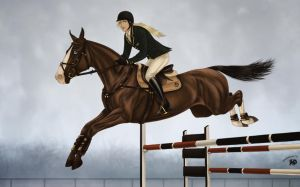 Windcrest Acres Annual Horse Show   Show Jumping by Zoubstance