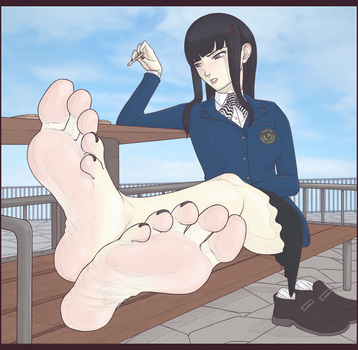 [Commish] Hifumi (+Alt Version!) by wtfeather