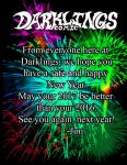 Happy New Year from Darklings - 2017! by RavynSoul