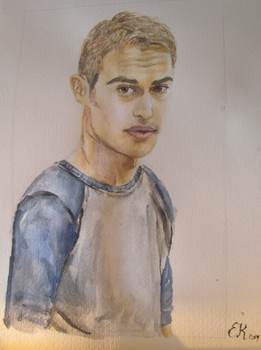 Theo James by Emmagro
