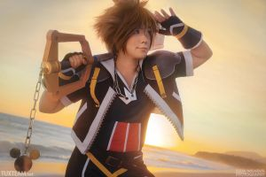 Kingdom Hearts 2: Sora by behindinfinity