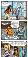 Nadeshicon 2014 promo comic by OmegaDez