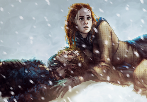 Sansa and Theon - Season 6 by Allegro97