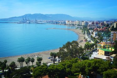 Malaga view by anyffe