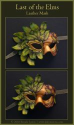 Last of the Elms -Leather Mask by windfalcon