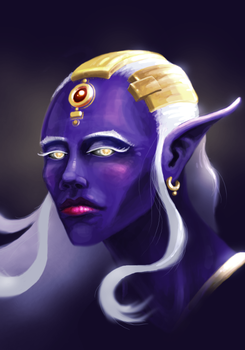 Drow Princess by lifebytes
