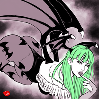 [DarkStalkers] Morrigan by chris-re5