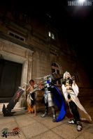 FF Dissidia: Chaos by songster69