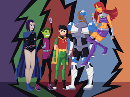 Teen Titans by Toast1862