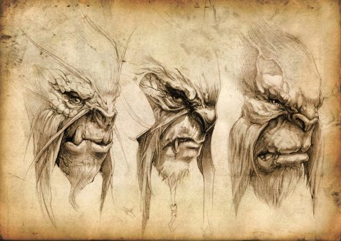Chewbacca Re-works by LiuAnQi