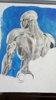 ultron - work in progress by katsteve