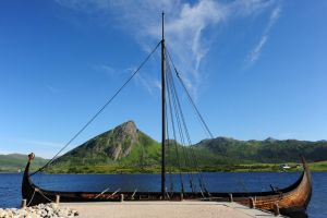 Lofotr viking ship by barsknos