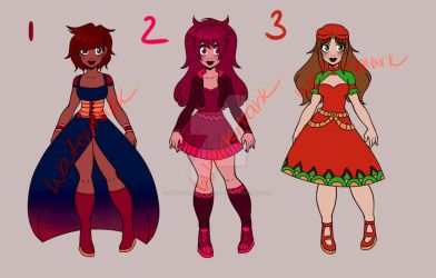 ADOPTS-SET PRICE-1/3 OPEN by Artlover4lifeHannah