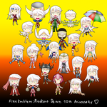 Radiant's Dawn 10th Anniversary. by ThanyTony