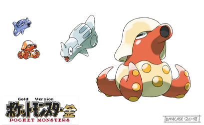 Pokemon Gold Beta - Remoraid and Octillery by Tomycase