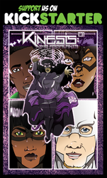 Kickstarter for Kinesis: The Assailants Issue 1 by LCBrown-Ojeda
