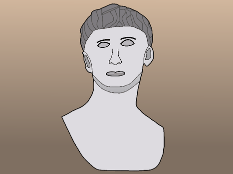 SketchDaily - 08/01 - Augustus Bust by Torvusil