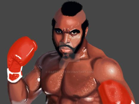 Clubber Lang by DartsyArt