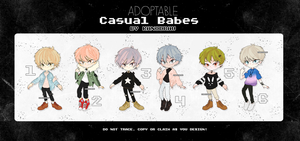 Adoptable: Casual Babes Ichigo 2 [Closed] by amepan