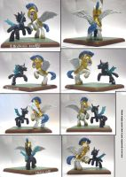 MLP:FIM Duel Thingy Side views by uBrosis