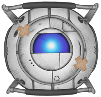 Portal 2 - Patched-Up Wheatley by hwshipper