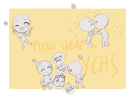 New Year Collab YCH (closed) by Tuliblu