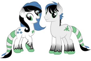 Twins | Art Trade by PaulySentry