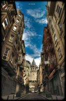 Galata tower HDR by Hendrix84