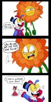 Sweet girlfriend_Cuphead_Comic by FANSHINE-ZERO