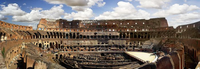 coliseum by Scryc