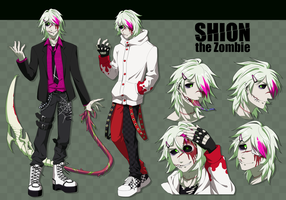 Shion the Zombie by Rio-dEyez