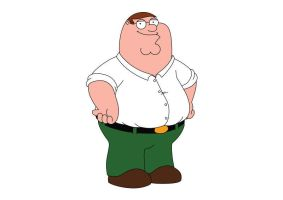 Family Guy Peter Griffin Vector by superawesomevectors