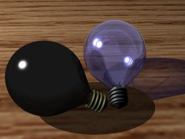 Two Light Bulb by DIN1031