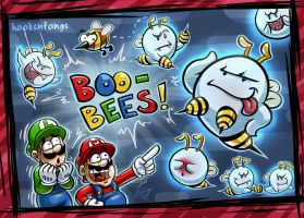Boo-Bees by hooksnfangs