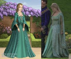 Jane's Green Proposal Gown by LadyAquanine73551