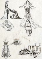 Unused lore illustrations by Cliotna