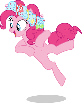 Mlp Fim Pinkie Pie (dance) vector by luckreza8