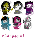 homestuck adopt batch #1! (4/6 open) by MonokingDraws