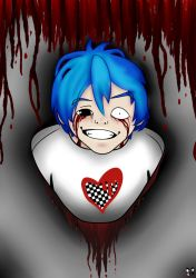 The Blue Haired Boy by charlotte759