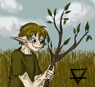 Erde: Keeper of the Earth DOODLE by Kali-Balekrone