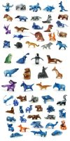 Animal miniatures by hontor