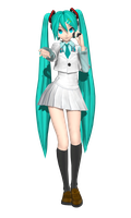 DT Extend School Miku by Sushi-Kittie