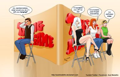 TLIID 407. Peter Parker in the Dating Game by AxelMedellin
