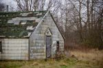 mossy barn by JensStockCollection